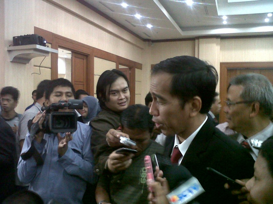 Gubernur DKI Jakarta, Joko Widodo